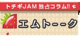 高収入求人情報トチギJAM【Mトーク】